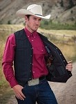 Ranger Wool conceal Carry Vest by Wyoming Traders